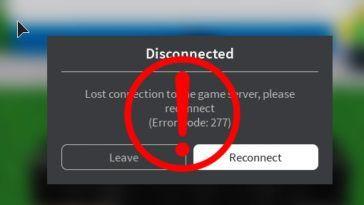 How to Fix Roblox Error Code 277