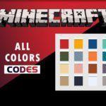 Minecraft Color Codes & Formatting codes