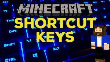 Minecraft Keyboard Shortcuts