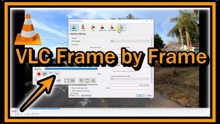 VLC Frame by Frame